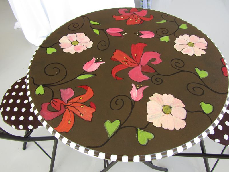 Brown Bistro set