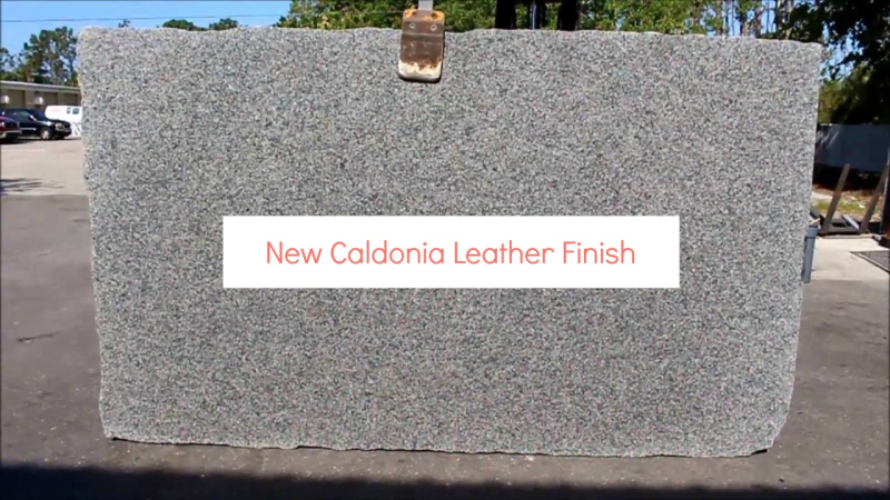 New Caledonia Leather Finish