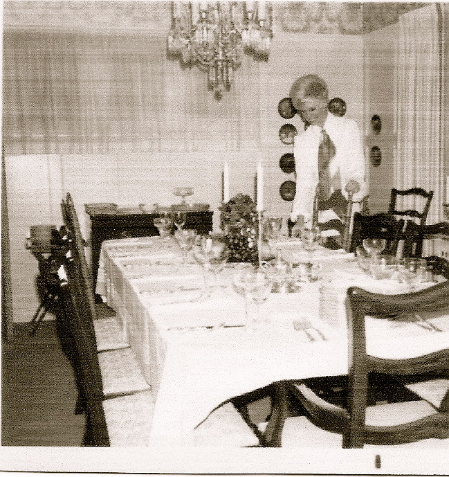 Linden dining room 1960's