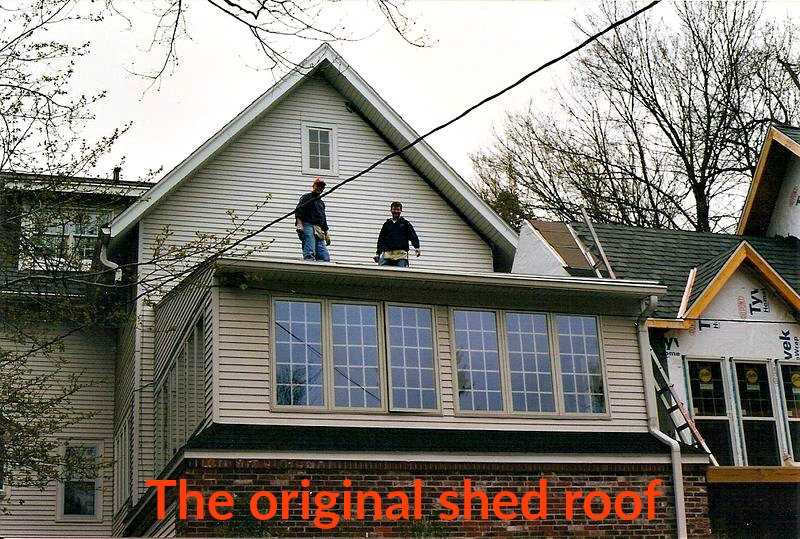 Original shed roof