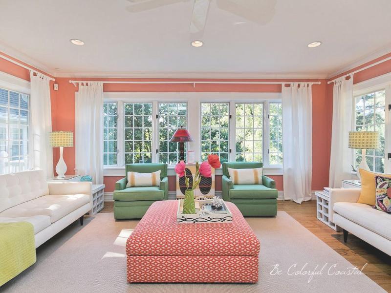Linden coral room