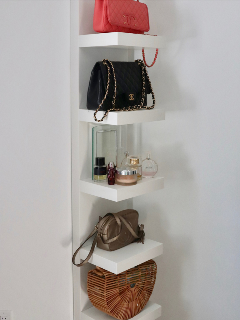 Favorite organizing hacks lack with purses