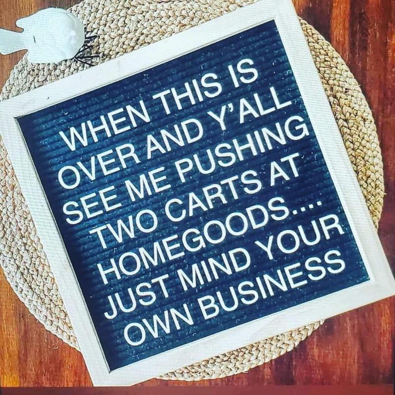 Homegoods cart