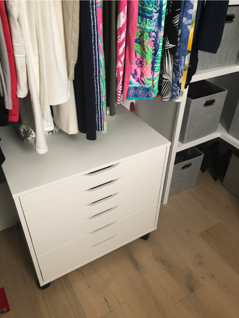 Favorite organization hacks Ikea Alex