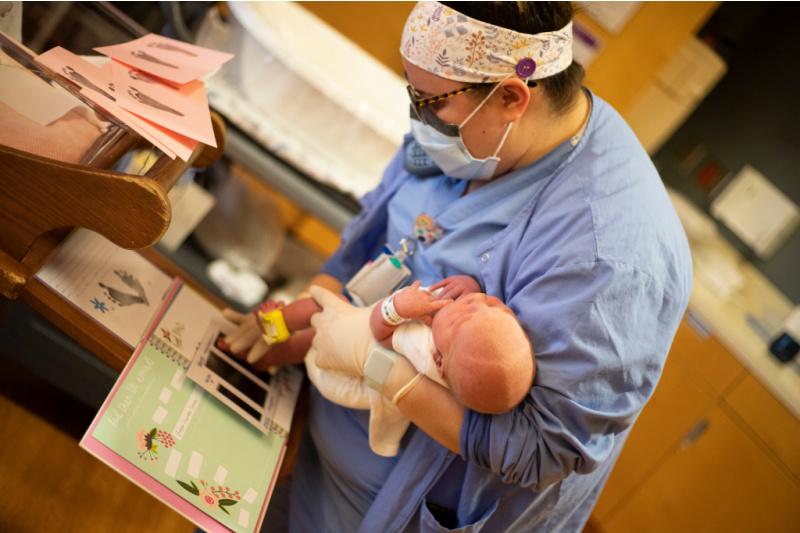Greer and nurse