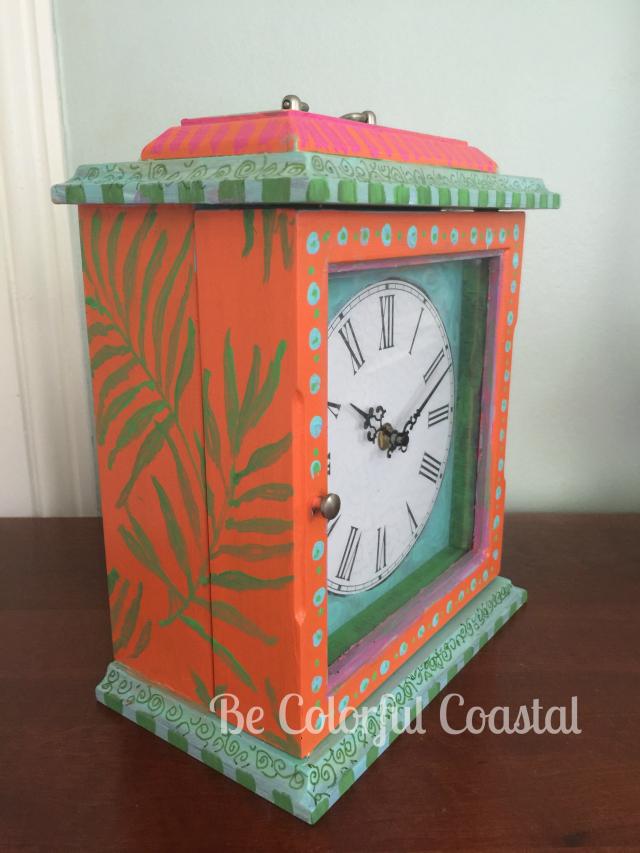 Be colorful coastal side