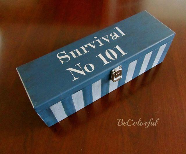 Survival Kit Wine Box